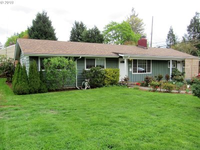 Single Family Home For Sale: 2040 SW Huntington Ave