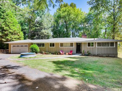 Hillsboro Single Family Home For Sale: 19435 NW West Union Rd