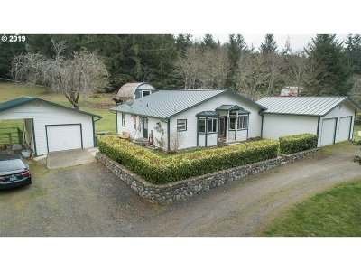 North Bend Single Family Home For Sale: 68455 Beaver Loop Rd
