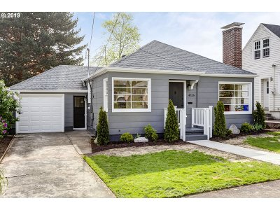 Single Family Home For Sale: 4526 NE 40th Ave