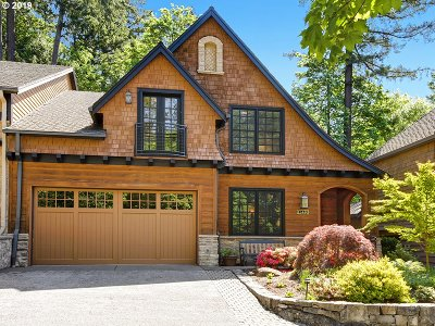 Lake Oswego Single Family Home For Sale: 15446 Boones Way