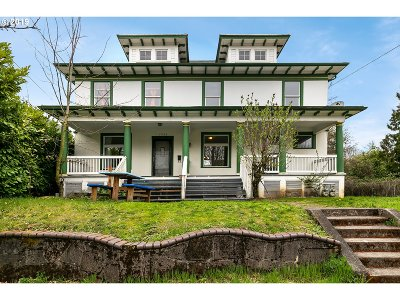 Multi Family Home For Sale: 4907 N Williams Ave