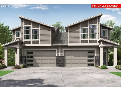 Hillsboro Single Family Home For Sale: 5913 SE Damask St #Lot1
