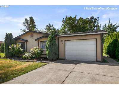 Wilsonville, Canby, Aurora Single Family Home For Sale: 1655 S Elm St #505