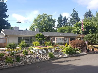 Vancouver Single Family Home For Sale: 3818 Oregon Dr