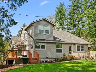Single Family Home For Sale: 10115 NW Thompson Rd