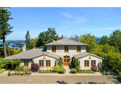 Multnomah County Single Family Home For Sale: 34931 E Hist Columbia River Hwy