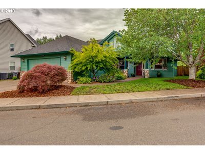 Canby Single Family Home Pending: 1360 SE 9th Ave