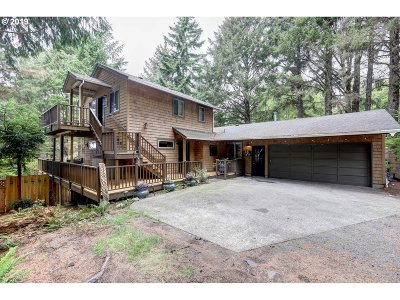 Cannon Beach Single Family Home For Sale: 3648 E Chinook Ave