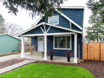 Single Family Home For Sale: 4815 SE 100th Ave