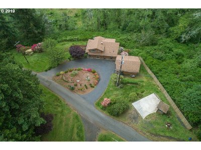 North Bend Single Family Home For Sale: 94455 Carlson Heights Ln