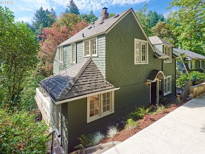 Portland Single Family Home For Sale: 66 NW Macleay Blvd