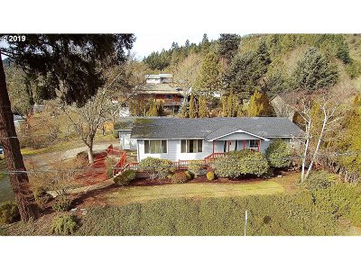 Myrtle Creek Single Family Home For Sale: 808 NW Orchard Dr