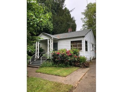 Portland OR Single Family Home For Sale: $225,000