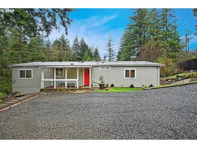Estacada Single Family Home Pending: 36295 SE La Bonne Ter