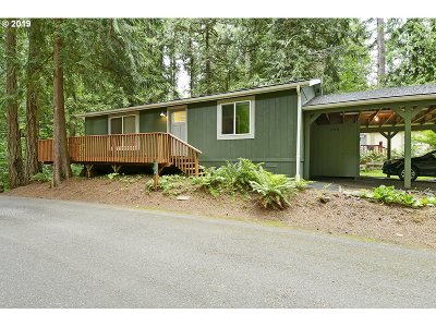 Clackamas County Single Family Home For Sale: 32700 SE Leewood Ln #18A
