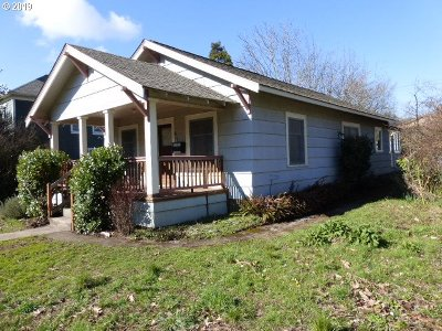 Eugene Single Family Home For Sale: 631 W 12th Ave