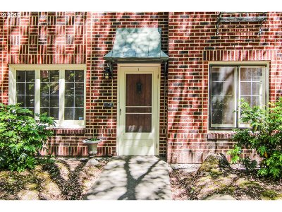 Portland Condo/Townhouse For Sale: 2743 NW Thurman St