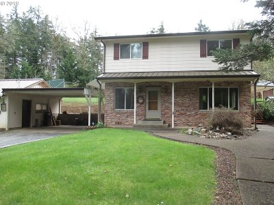 Willamina Single Family Home For Sale: 695 SW Hill Dr