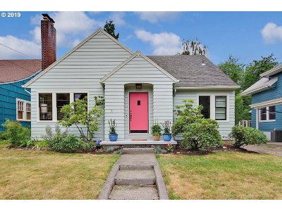 Portland Single Family Home For Sale: 4215 N Court Ave