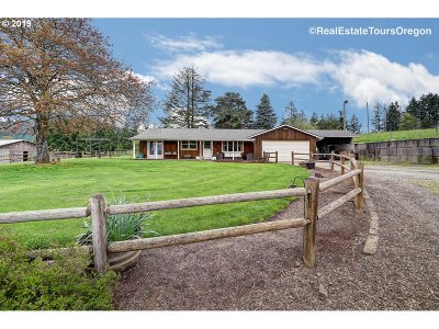 Gaston Single Family Home For Sale: 2285 NW Phillips Rd