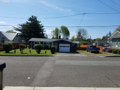 North Bend Single Family Home For Sale: 2129 Wall St