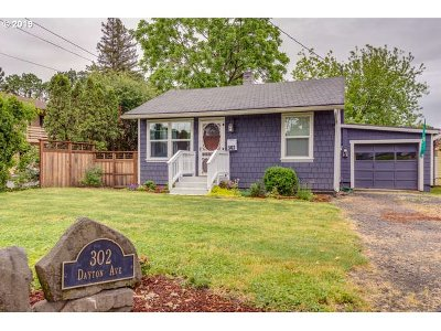 Newberg, Dundee, Mcminnville, Lafayette Single Family Home For Sale: 302 Dayton Ave