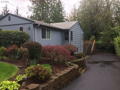 Beaverton Single Family Home For Sale: 4325 SW 96th Ave