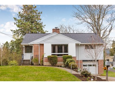 Single Family Home For Sale: 3325 SW Huber St