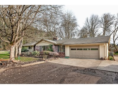 Single Family Home For Sale: 51359 NW Staley Rd