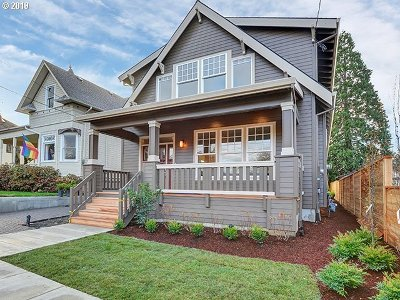 Portland OR Single Family Home For Sale: $799,000