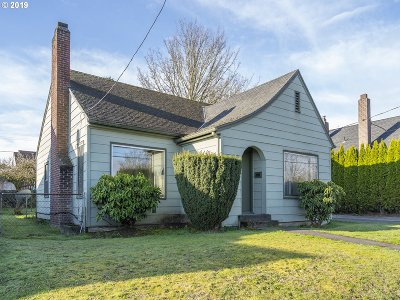 Multnomah County Single Family Home For Sale: 548 N Lombard St