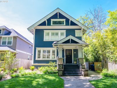 Portland Single Family Home For Sale: 5757 NE Rodney Ave