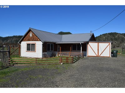 Sutherlin Single Family Home For Sale: 210 Red Rd