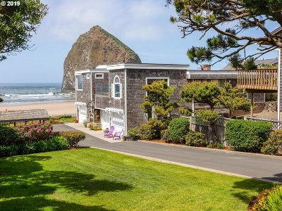 Cannon Beach Single Family Home For Sale: 1868 Pacific St