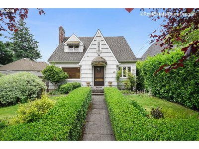 Single Family Home For Sale: 4021 NE 22nd Ave