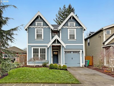 Portland Single Family Home For Sale: 8955 N Clarendon Ave