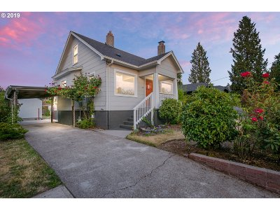 Portland OR Single Family Home For Sale: $465,000
