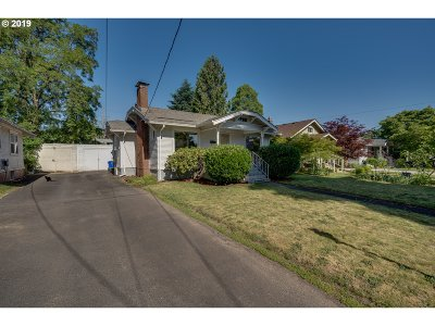 Portland Single Family Home For Sale: 6825 N Boston Ave