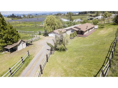 Single Family Home For Sale: 88364 Fisher Rd