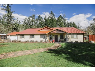 Sutherlin Single Family Home For Sale: 6218 Nonpareil Rd
