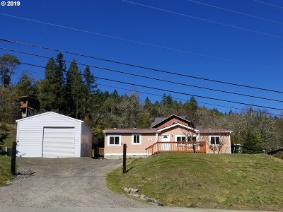 Canyonville Single Family Home For Sale: 225 Canyonville-Riddle Rd