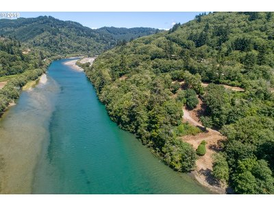 Brookings Residential Lots & Land For Sale: S Bank Chetco River Rd