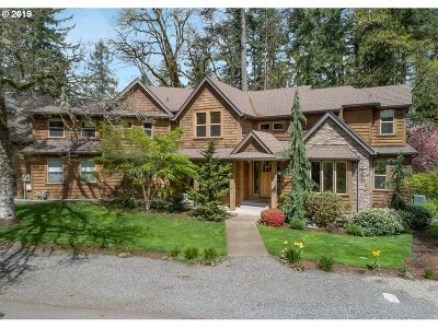 Lake Oswego OR Single Family Home For Sale: $1,198,000