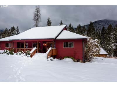 Welches Single Family Home For Sale: 27378 E Welches Rd