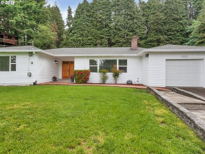 Portland Single Family Home For Sale: 12030 SW 64th Ave
