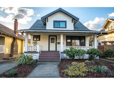 Clackamas County, Multnomah County, Washington County Multi Family Home For Sale: 1805 SE 37th Ave