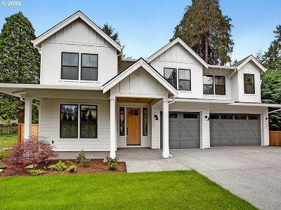 Lake Oswego Single Family Home For Sale: 18000 Pilkington Rd