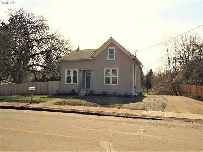Woodburn Single Family Home Sold: 444 Hardcastle Ave