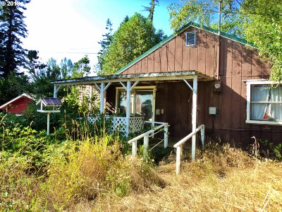 Coquille OR Single Family Home For Sale: $48,600